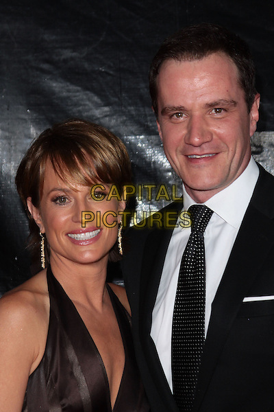 GUEST & TIM DEKAY.NBC Universal's 67th Annual Golden Globe After Party held at Beverly  Hilton, Beverly Hills, California, USA..January 17th 2010.globes headshot portrait black brown halterneck .CAP/ADM/TC.©T.Conrad/Admedia/Capital Pictures