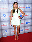 Jenna Ushkowitz attends The HBO L.A. Premiere of The Normal Heart held at The WGA in Beverly Hills, California on May 19,2014                                                                               © 2014 Hollywood Press Agency