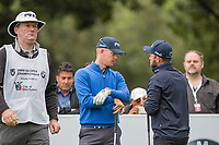 Brandon Stone (RSA), Andy Sullivan (ENG) during the 1st round of the BMW SA Open hosted by the City of Ekurhulemi, Gauteng, South Africa. 11/01/2018<br /> Picture: Golffile   Tyrone Winfield<br /> <br /> <br /> All photo usage must carry mandatory copyright credit (&copy; Golffile   Tyrone Winfield)