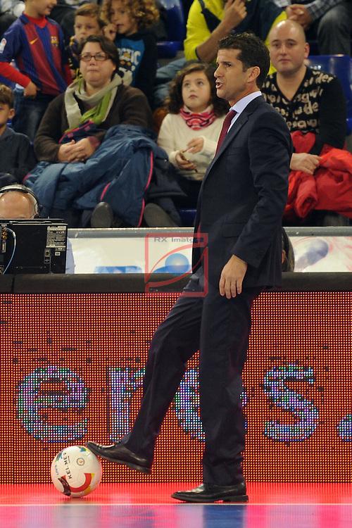 League LNFS 2016/2017 - Game 8.<br /> FC Barcelona Lassa vs ElPozo Murcia: 2-3.<br /> Duda.
