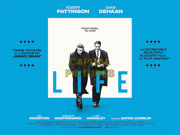 Life (2015) <br /> POSTER ART<br /> *Filmstill - Editorial Use Only*<br /> CAP/KFS<br /> Image supplied by Capital Pictures