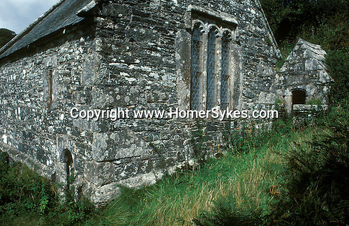 "St Clethers Holy Well and Chape, St Clether.  On the edge of ""Bodmin Moor"" Cornwall England"