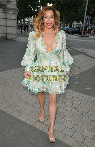 Joy Canfield at the Syco summer party, Victoria and Albert Museum, Cromwell Road, London, England, UK, on Thursday 04th July 2019.<br /> CAP/CAN<br /> ©CAN/Capital Pictures