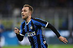 Christian Eriksen of Inter during the Coppa Italia match at Giuseppe Meazza, Milan. Picture date: 12th February 2020. Picture credit should read: Jonathan Moscrop/Sportimage