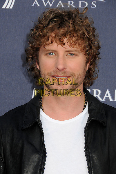 DIERKS BENTLEY .46th Annual Academy of Country Music Awards - Arrivals held at the MGM Grand Garden Arena, Las Vegas, Nevada, USA, 3rd April 2011..portrait headshot beard facial hair  black white t-shirt  jacket  .CAP/ADM/BP.©Byron Purvis/AdMedia/Capital Pictures.