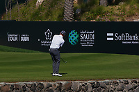 Grant Forrest (SCO) on the 9th during Round 4 of the Saudi International at the Royal Greens Golf and Country Club, King Abdullah Economic City, Saudi Arabia. 02/02/2020<br /> Picture: Golffile | Thos Caffrey<br /> <br /> <br /> All photo usage must carry mandatory copyright credit (© Golffile | Thos Caffrey)