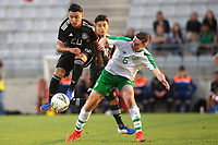 Jairo Torres of Mexico takes the ball past Republic of Ireland's Conor Coventry during Republic Of Ireland Under-21 vs Mexico Under-21, Tournoi Maurice Revello Football at Stade Parsemain on 6th June 2019