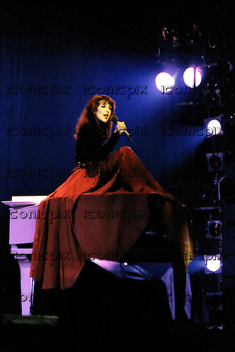 Kate Bush performing live at the Empire Theatre in Liverpool UK - 03 Apr 1979.  Photo credit: Alan Perry/IconicPix