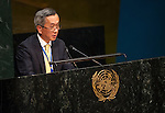 Japan<br /> <br /> General Assembly 70th session 32nd plenary meeting<br /> Report of the Secretary-General on the work of the Organization: report of the Secretary-General (A/70/1) [item 109]