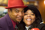 African American couple, close-up, portrait