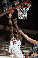 STANFORD, CA-JANUARY 18, 2012 - Chiney Ogwumike looks for two in the first half against the Washington State Cougars.