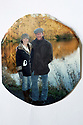 Noreen Van der Velde with her husband actor Jean-Paul at home in County Antrim. (Family Photo for the Belfast Telegraph)