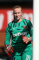 Courtney Brosnan of West Ham during Arsenal Women vs West Ham United Women, Barclays FA Women's Super League Football at Meadow Park on 8th September 2019