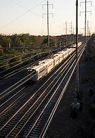 Commuter Train, Mercer County, New Jersey