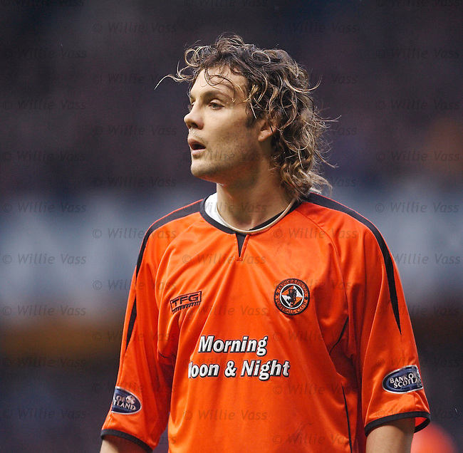 David Fernandez, Dundee Utd.stock season 2005-2006.pic willie vass