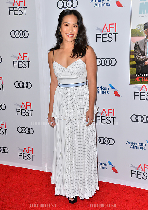 LOS ANGELES, CA. November 10, 2018: Melissa Tang at the AFI Fest 2018 world premiere of &quot;The Kominsky Method&quot; at the TCL Chinese Theatre.<br /> Picture: Paul Smith/Featureflash