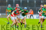 Action from Crotta O'Neills v Lixnaw in the U21 County Hurling Championship Final in Austin Stack Park on Saturday.