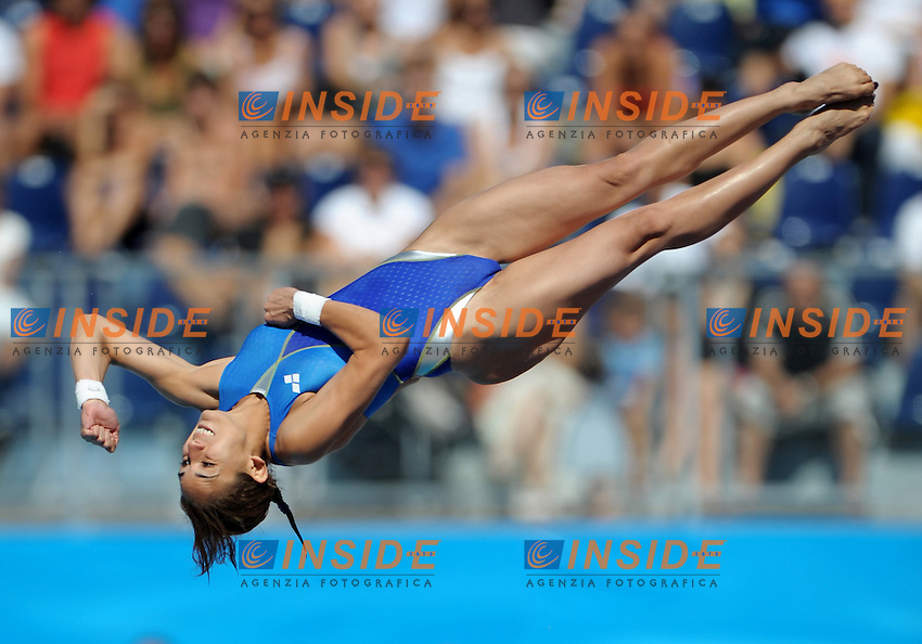 Roma 18th July 2009 - 13th Fina World Championships From 17th to 2nd August 2009..Rome (Italy) 18 07 2009..Women's platform 10m final..Paula Espinosa (MEX) gold medal......photo: Roma2009.com/InsideFoto/SeaSee.com