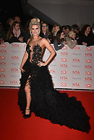 Sarah Jayne Dunn attending the National Television Awards 2018 at The O2 Arena on January 23, 2018 in London, England. <br /> CAP/Phil Loftus<br /> &copy;Phil Loftus/Capital Pictures