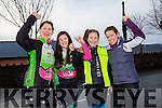 MEMORIAL CYCLE: Taking part in the Jimmy Duffy memorial cycle at Blennerville on Saturday were  l-r Pauline Russell, Tara Russell Kissane,  Ailbhe Russell Kissane, Ciara McGowan