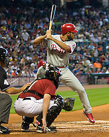Feliz, Pedro 6467.jpg Philadelphia Phillies at Houston Astros. Major League Baseball. September 7th, 2009 at Minute Maid Park in Houston, Texas. Photo by Andrew Woolley.