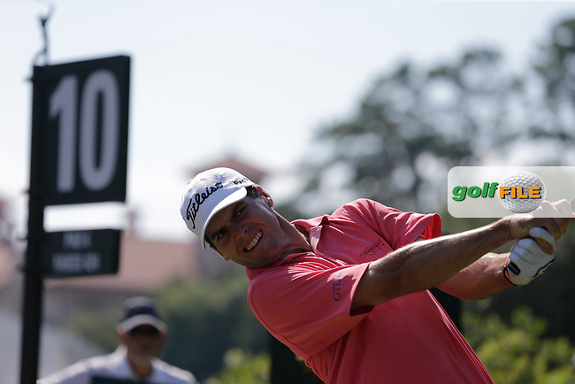 Ben Martin (USA) on the 10th tee during the final round of The Players, TPC Sawgrass, Ponte Vedra Beach, Florida, United States. 10/05/2015<br /> Picture Fran Caffrey, www.golffile.ie