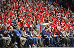 Ole Miss basketball vs. Baylor in the SEC-Big 12 Challenge at the Pavilion at Ole Miss in Oxford, Miss., Saturday, Jan. 28, 2017. Photo by Thomas Graning/Ole Miss Communications
