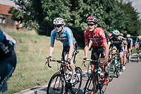 Stef Van Zummeren (BEL/V&eacute;randas Willems-Crelan) &amp; Tiesj Benoot (BEL/Lotto-Soudal)<br /> <br /> 97th Brussels Cycling Classic (1.HC)<br /> 1 Day Race: Brussels &gt; Brussels (201km)