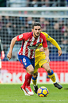 Jorge Resurreccion Merodio, Koke, of Atletico de Madrid in action during the La Liga 2017-18 match between Atletico de Madrid and UD Las Palmas at Wanda Metropolitano on January 28 2018 in Madrid, Spain. Photo by Diego Souto / Power Sport Images