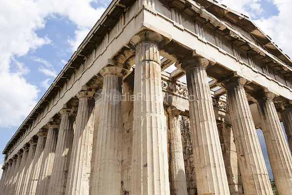 Temple of Hephaestus, Ancient Agora of Athens, Athens, Greece <br /> CAP/MEL<br /> &copy;MEL/Capital Pictures /MediaPunch ***NORTH AND SOUTH AMERICA ONLY***