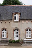 Europe/France/Bretagne/35/Ille et Vilaine/Saint-Malo: Malouinière  du Puits Sauvage -Détail facade des  communs