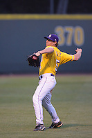 June 5, 2010: Mason Katz of LSU during NCAA Regional game against UCLA at Jackie Robinson Stadium in Los Angeles,CA.  Photo by Larry Goren/Four Seam Images