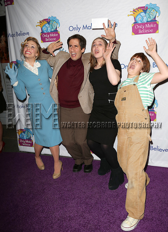 Seth Rudetsky & 'Disaster!' attend the 14th Annual 'Only Make Believe' Gala at the Bernard B. Jacobs Theatre on November 4, 2013  in New York City.
