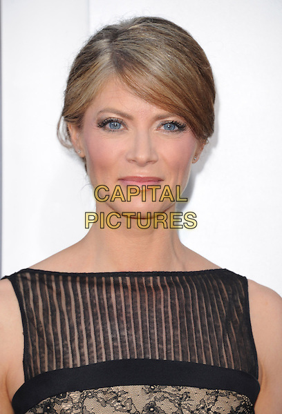 "Gillian Vigman.""The Hangover Part III"" Los Angeles Premiere held at the Westwood Village Theater, Los Angeles, California, USA..May 20th, 2013.headshot portrait black stripe sleeveless .CAP/DVS.©DVS/Capital Pictures"