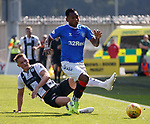 25.08.2019 St Mirren v Rangers: Alfredo Morelos and Sean McLoughlin