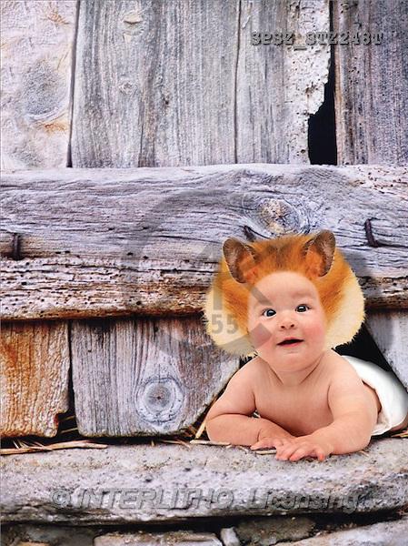 Jose, BABIES, photos, baby, fence(SPSZSTZ248T,#B#) bébé