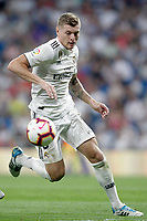 Real Madrid's Toni Kroos during La Liga match. August 19,2018.  *** Local Caption *** &copy; pixathlon<br /> Contact: +49-40-22 63 02 60 , info@pixathlon.de