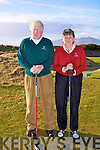 The sun came out for the Waterville Captains 2011 'Drive In' on Sunday pictured l-r; Hugh Mullins and Noelle Golden