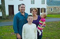 11/11/12 5:27:04 PM - Washington Crossing, PA. --  Beach Family -- November 11, 2012 in Washington Crossing, Pennsylvania -- (Photo by William Thomas Cain/Cain Images)