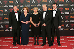 Porfirio Enriquez, Gracia Querejeta, Manuela Carmena, Antonio Resines and Edmon Roch attend 30th Goya Awards red carpet in Madrid, Spain. February 06, 2016. (ALTERPHOTOS/Victor Blanco)