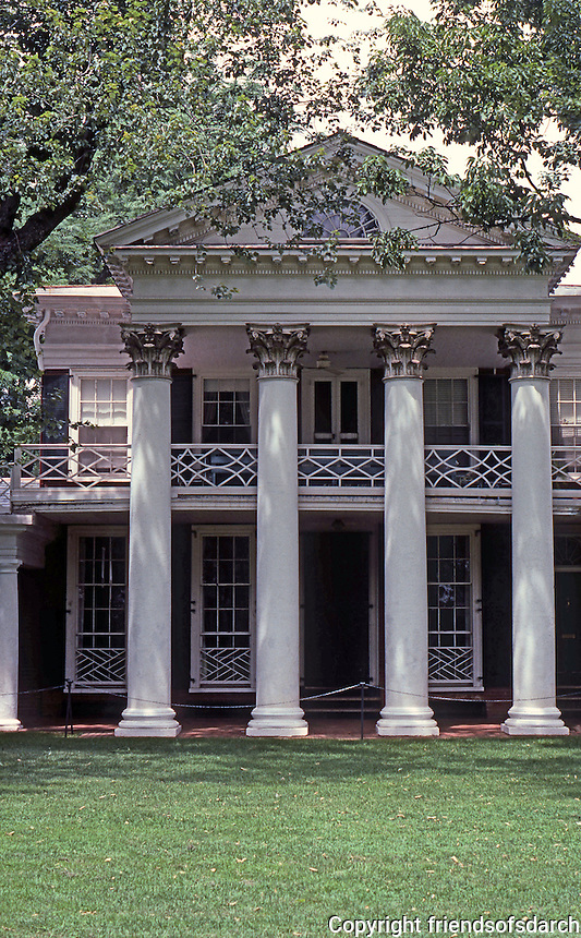 Thomas Jefferson: University of Virginia--Pavilion Elevation.  Photo '85.