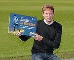 Scot Gemmill at Paisley to preview the Scotland u21 match against The Netherlands