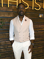 """WEST HOLLYWOOD - AUGUST 10: Sterling K. Brown attends the Red Carpet Panel and Discussion for NBC's """"THIS IS US"""" Pancakes With The Pearsons at 1 Hotel on August 10, 2019 in West Hollywood, CA. CR: Frank Micelotta/20th Century Fox Television/PictureGroup"""
