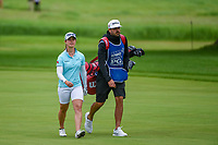 Nuria Iturrioz (ESP) makes her way down 1 during the round 3 of the KPMG Women's PGA Championship, Hazeltine National, Chaska, Minnesota, USA. 6/22/2019.<br /> Picture: Golffile | Ken Murray<br /> <br /> <br /> All photo usage must carry mandatory copyright credit (© Golffile | Ken Murray)