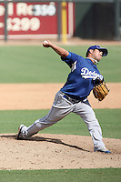 Steve Smith - Los Angeles Dodgers - 2010 Instructional League.Photo by:  Bill Mitchell/Four Seam Images..