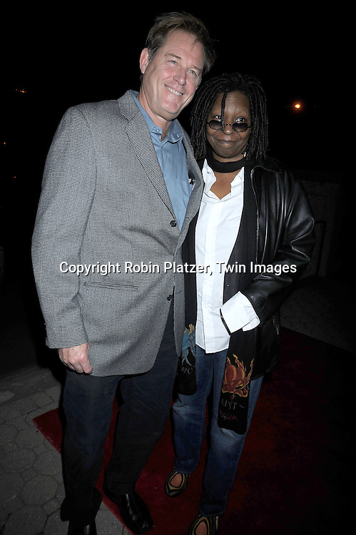 Brian Kerwin and Whoopi Goldberg