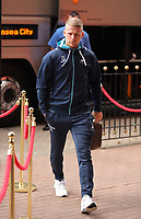 Stephen Kingsley of Swansea City  arrives prior to the Premier League match between Sunderland and Swansea City at the Stadium of Light, Sunderland, England, UK. Saturday 13 May 2017