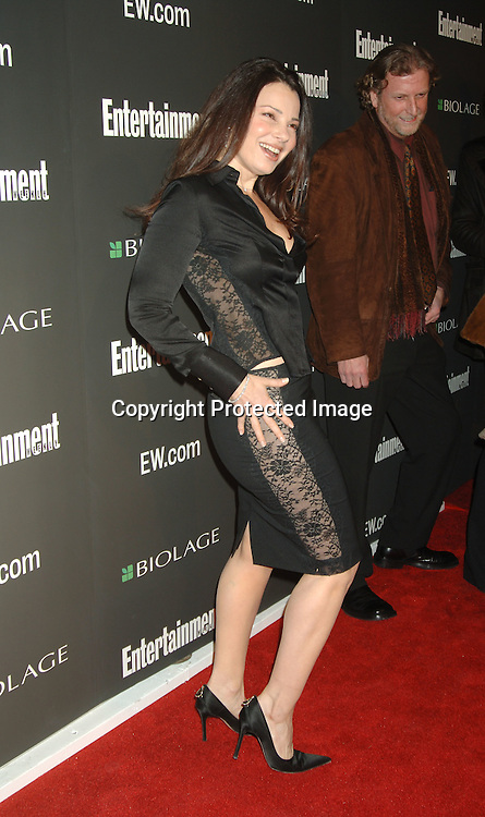 Fran Drescher ..arriving at The 12th Annual Entertainment Weekly Oscar Party on March 5, 2006 at Elaine's. ..Robin Platzer, Twin Images