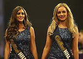 29.12.2015. Alexandra Palace, London, England. William Hill PDC World Darts Championship. The William Hill Walk-on Girls
