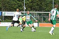 VOETBAL: JOURE: Sportpark Hege Simmerdyk, 06-09-2015, SC Joure - VV Bergum, Eindstand 2-1, ©foto Martin de Jong